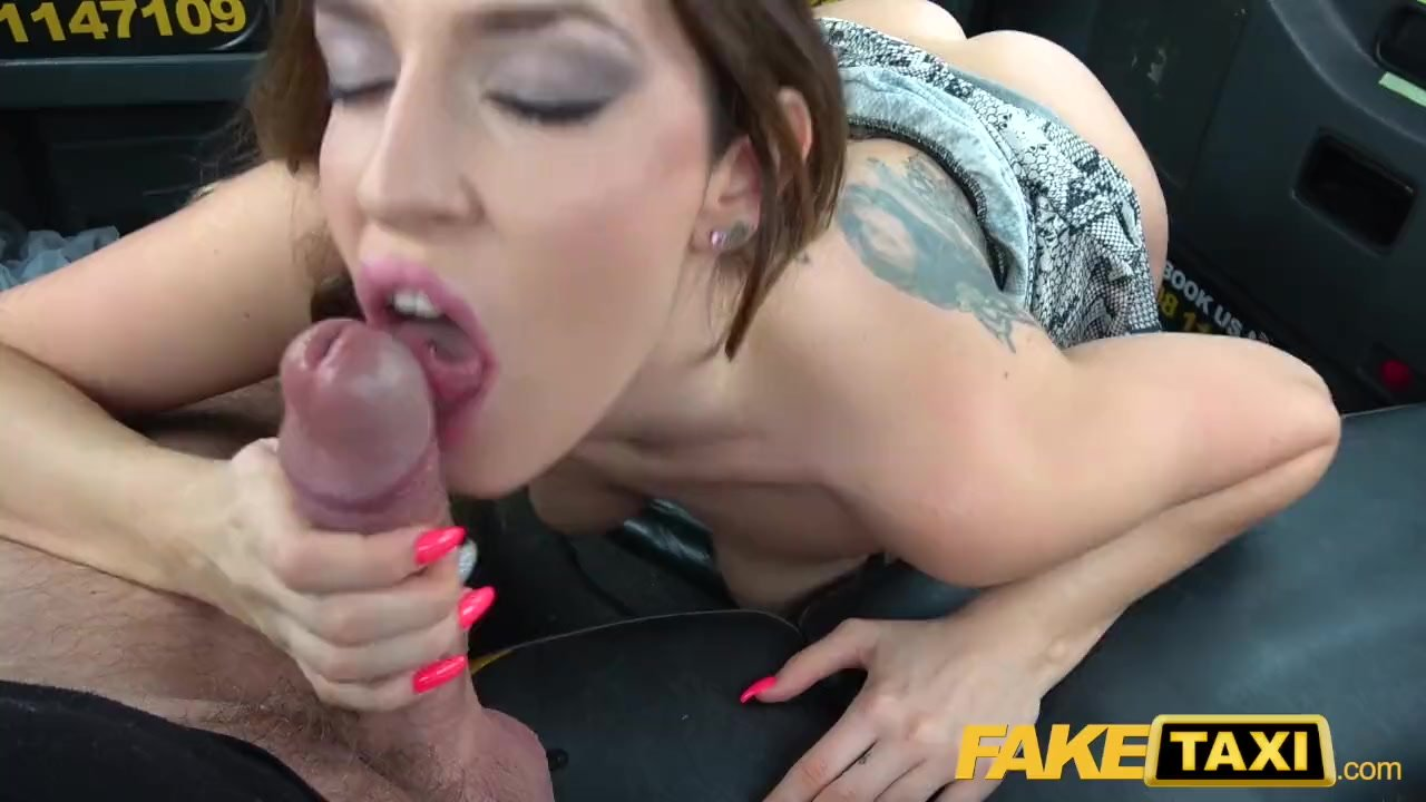 Fake Cop Slutty Spanish cock sucker gets cum on glasses