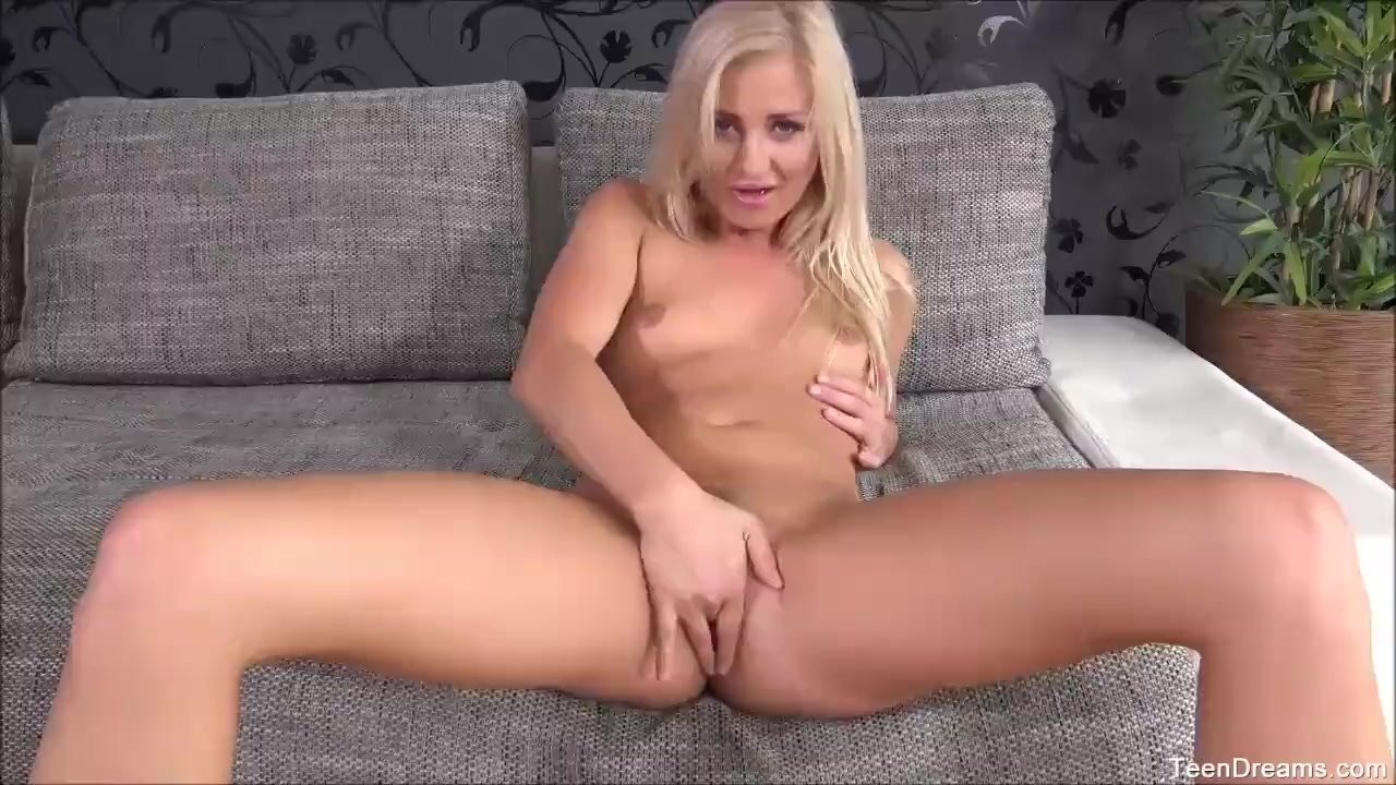 Amateur Teen Cayla Fingering Her Tight Pussy