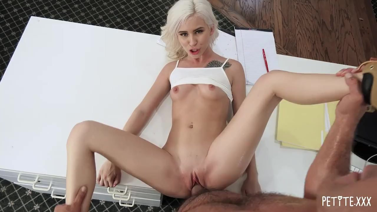 Tiny Skinny Blonde Teen