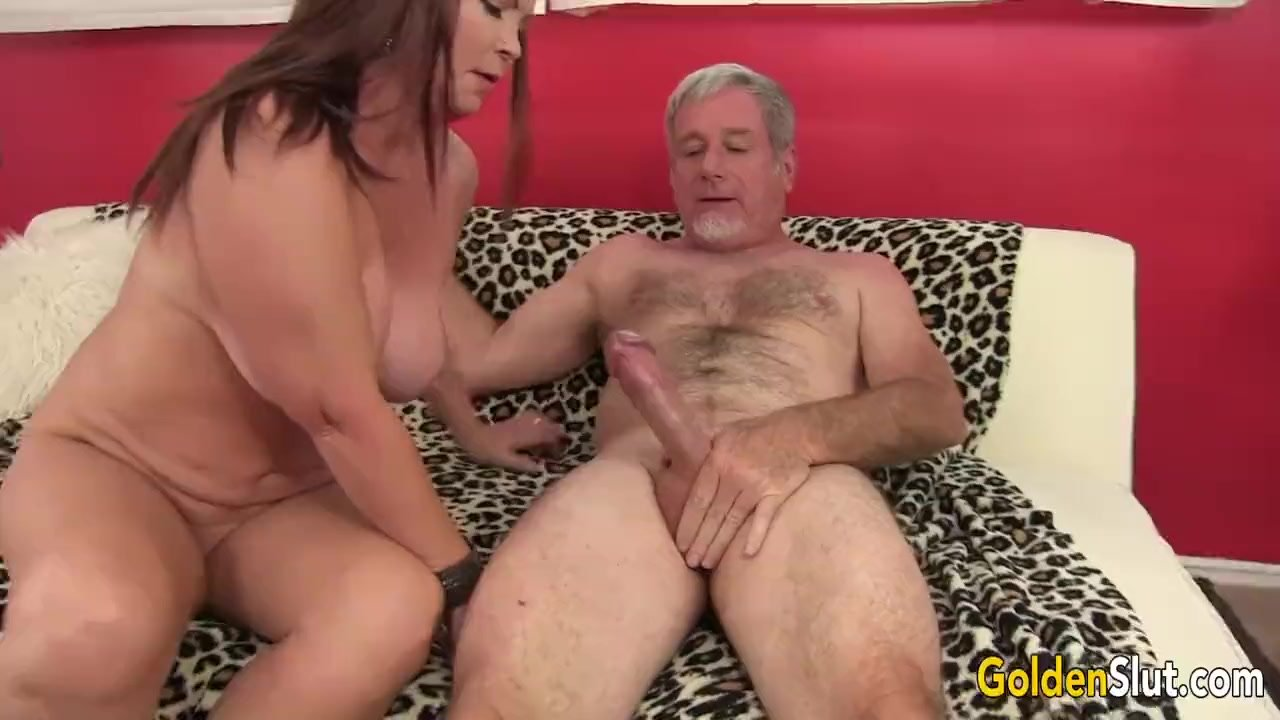 Mature Brunette Isabelle Love Gets Pounded Hard by an Old Man
