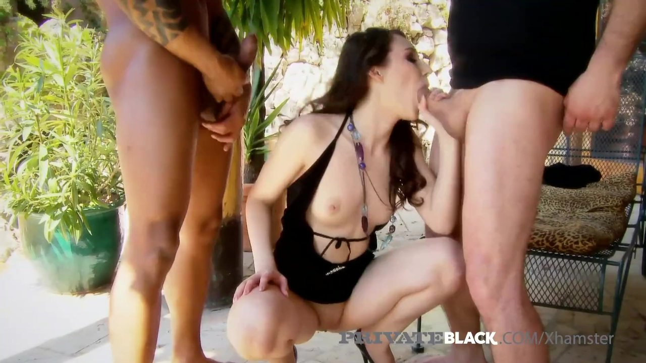 Ass Porno Internactional private black - sexy stacy snake gets gaping double creampie