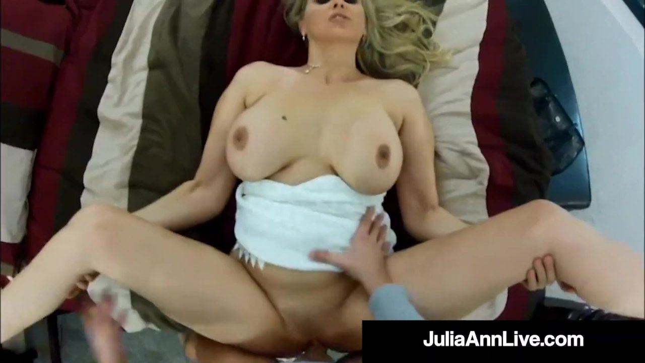 Voyeur Milf Julia Ann Banged Butt Style On Spy Cam!