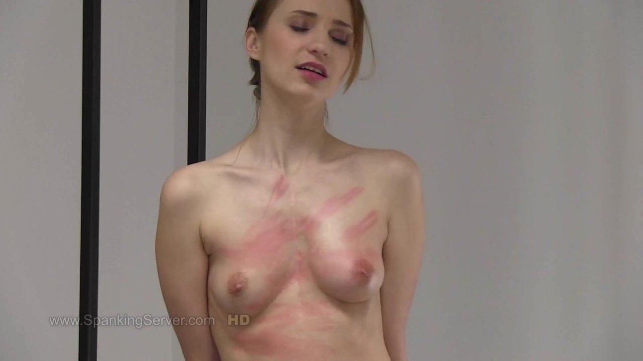 Chelsy's breast whipping. - RedTube