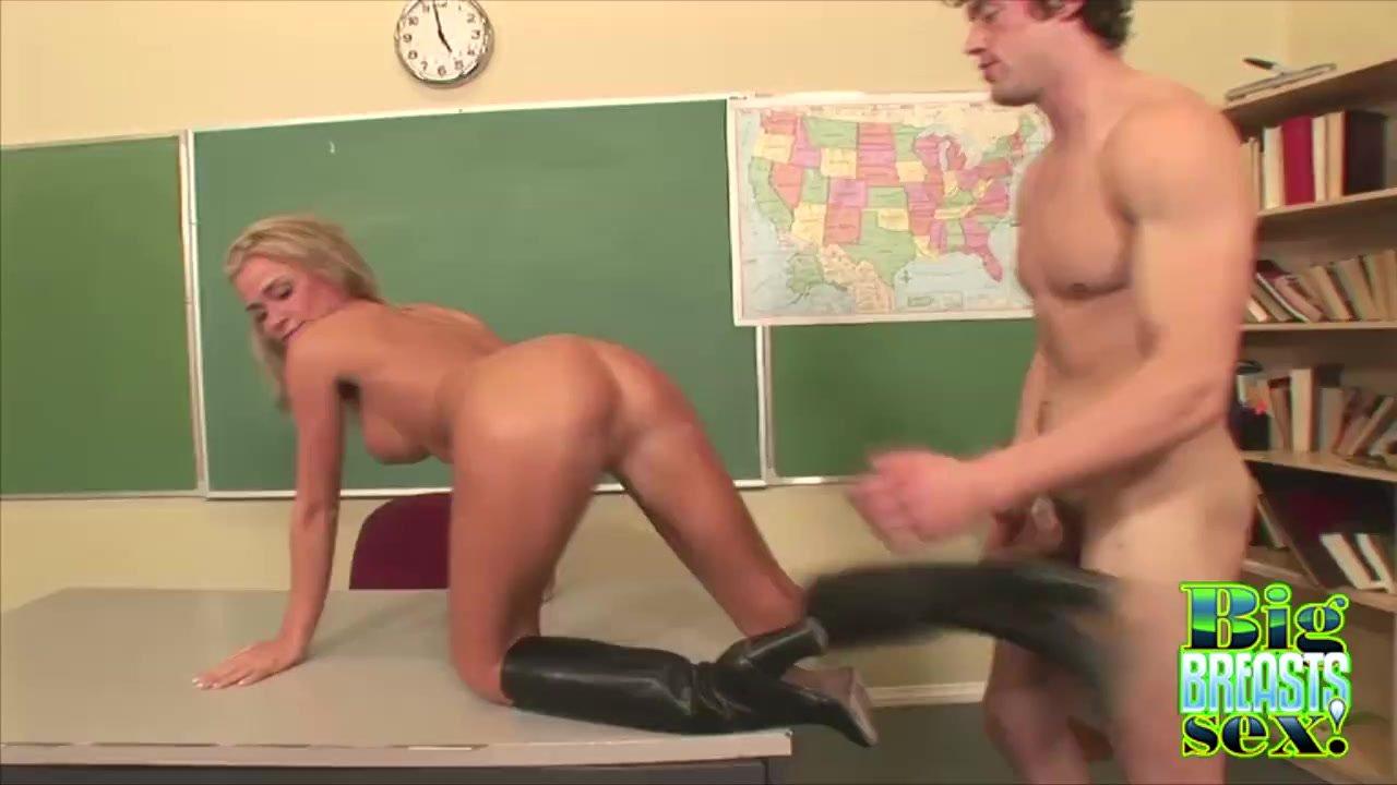 Busty McKenzee Miles Classroom Fucking