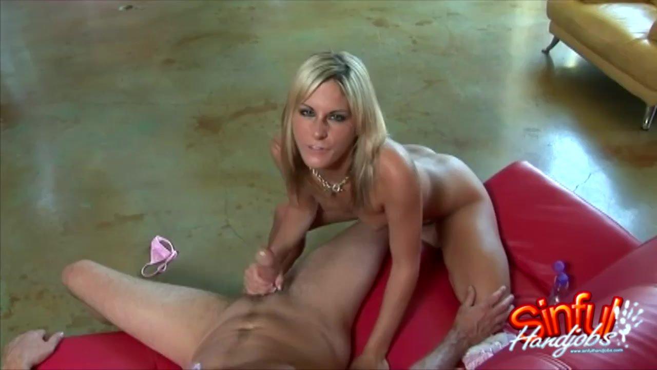 Courtney Simpson Teasing And Handjobs