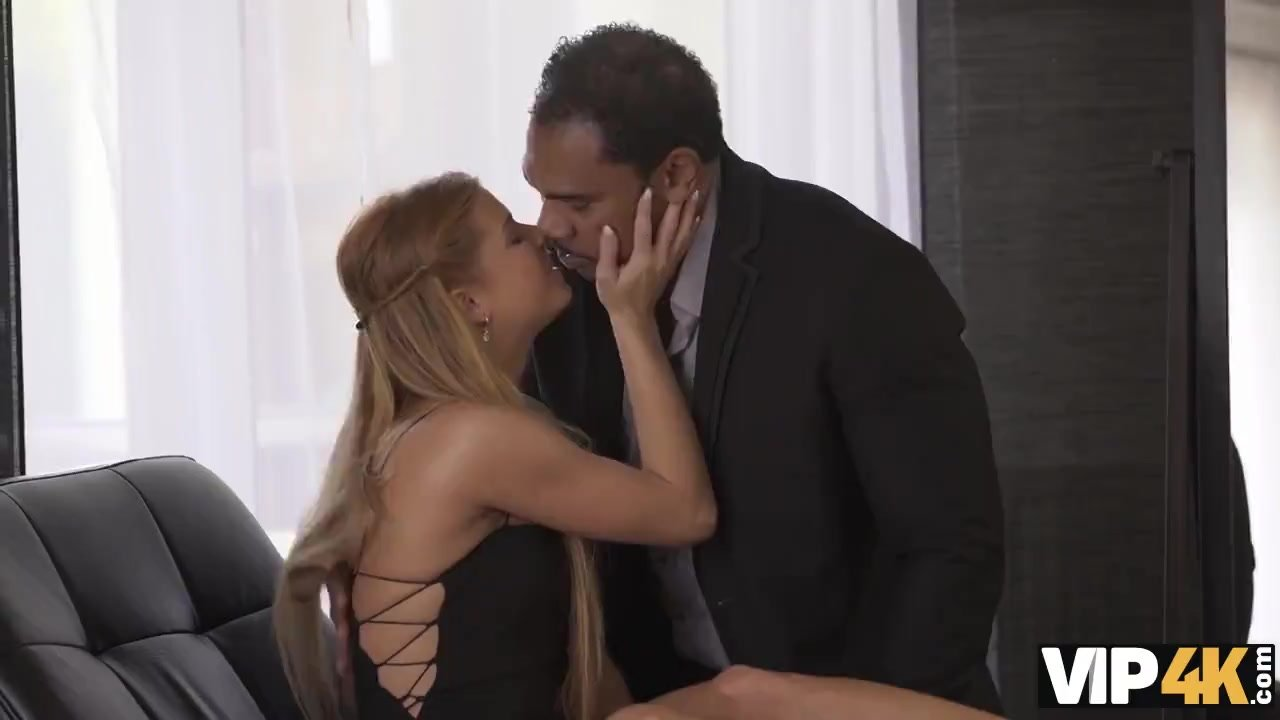 VIP4K. Black man finally comes home to fuck beautiful white lady