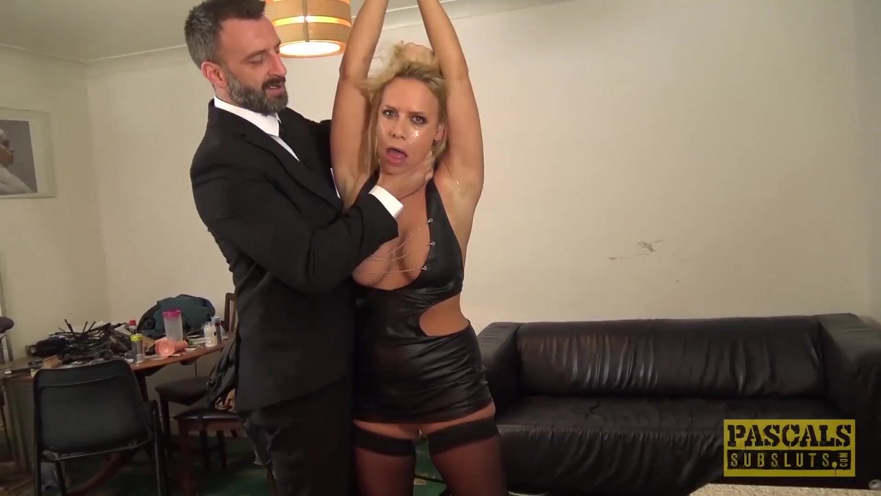 PASCALSSUBSLUTS - MILF Sasha Steele Submits To BDSM and Anal