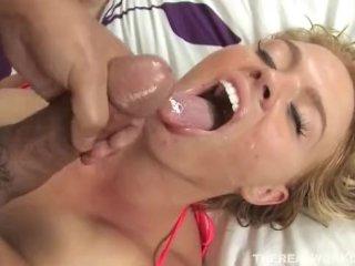 Krissy Lynn stands for busty pleasures