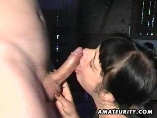 Amateur girlfriend blowjob