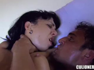 Vicky loves to have that meat in her