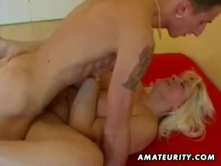 Fat mature amateur wife getting fucked