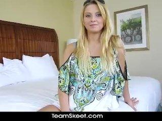 blonde babe Lexi Kartel hardcore POV sex