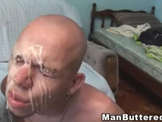 Huge cock right in the gay anal