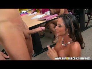 Big-tit Latina teacher gets a sex ed lesson – brazzers
