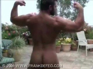 Bear Hairy muscle man