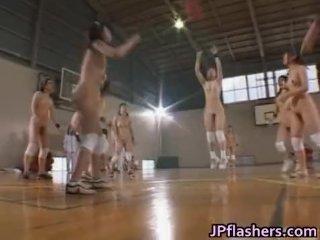 Amateur Asian girls play