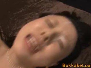 Junko Hayama the girl with 100 facials