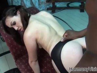 Interracial anal double team