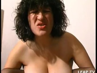 Big boobed french slut gets ass fucked
