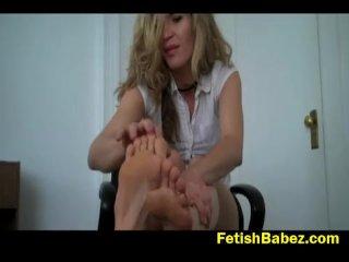 Foot fetish palooza by Abby