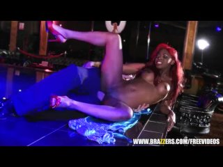 Ebony stripper gets some rough anal – brazzers