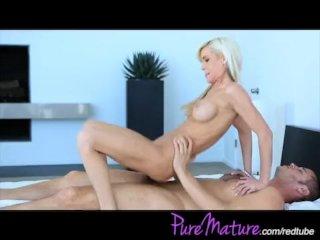 Blonde MILF fucked hard