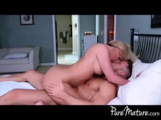 Hot MILF loves younger cock riding