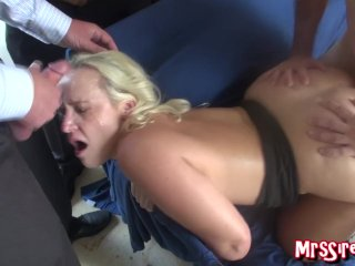 The Swinger Experience Presents Cum covered doggy style