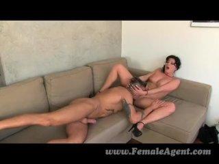Nymph stripper delights MILF