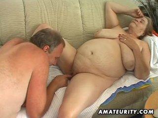 Granny sex amateur wife fucks
