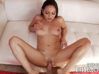 Foot fetish with Maddy O'Reilly, Jasmine Wolf