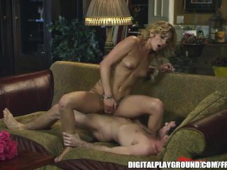 Nikki Seven is stripped and fucked