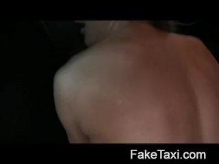 Hot Romanian girl in backseat blowjob
