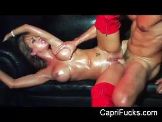 Capri Cavanni strip club fucking