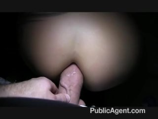 PublicAgent – Tattooed blonde cash for sex