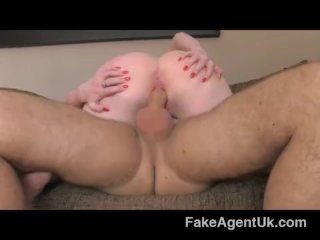 FakeAgentUk – Blonde Scottish babe big boobs