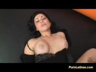 Busty puro Latina fucked hard at the casting