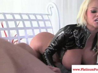 Nikita Von James fucks and sucks cock