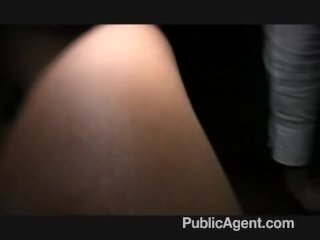 PublicAgent – Penelope fucks on the train