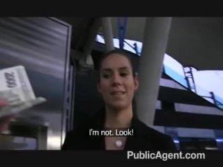 PublicAgent – i cum over her tits outdoors