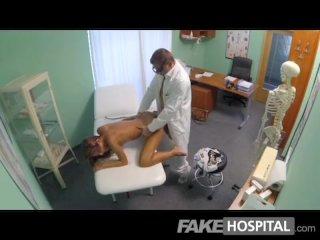 FakeHospital – Spying on hot babe