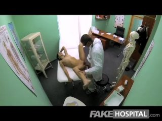 FakeHospital – Slim young student cums