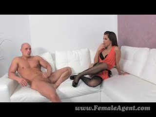 FemaleAgent – Sexy creampie casting with stud