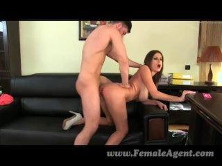 FemaleAgent – Big swinging tits