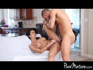 PureMature Wife surprises man with lingerie