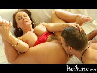 PureMature – Redhead MILF loves to titty fuck
