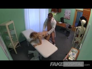 FakeHospital – Cheating blonde sucks and fuck