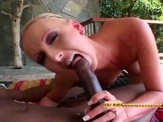 interracial sex for blonde milf black cock