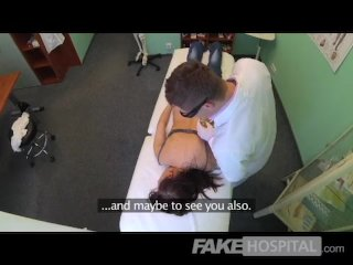 FakeHospital – Pretty patient was prepped