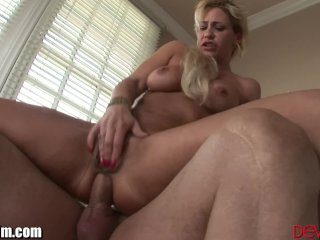 DevilsFilm MILF Squirts With Cock In Ass
